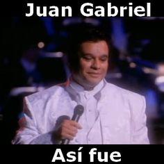 Juan Gabriel - Asi fue acordes