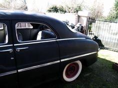 49 Mercury sedan in flat black Pic 1