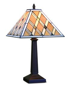 Legacy Table Lamp, Tiffany Style Diamond Mission - Lighting & Lamps - for the home - Macy's