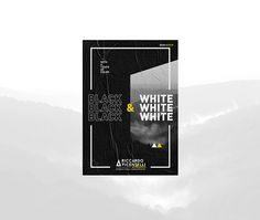 B&W+C2018 on Behance Graphic Design Layouts, Layout Design, Web Design, Logo Design, Plakat Design, Behance, Explore, Black And White, Identity
