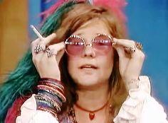 "In full ""Pearl"" mode on the Dick Cavett show"