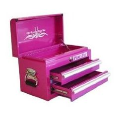 Pink Tool Box - I love this :)