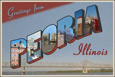 Peoria is the oldest community in Illinois. Peoria Illinois, Central Illinois, Flash Photography, Photography Website, East Peoria, Vintage Postcards, Vintage Cards, Saint Charles, Great Pictures