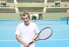 this looks like a youtube tutorial on how to play tennis