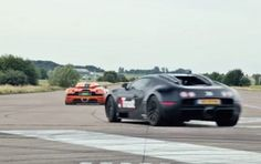 It's not often you see a Koenigsegg go up against a Bugatti Veyron, but what's even rarer is seeing the boss of one of the supercar brands behind the wheel. The video is from YouTube user Trust and comes to us via the guys at duPont Registry. It was filmed at an old airstrip in Ängelholm, Sweden where Koenigsegg is based and develops all of its cars.