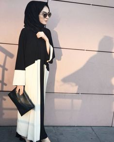 Pinterest @adarkurdish , #aadarkurdish #adarkurdish #Pinterest Islamic Fashion, Muslim Fashion, Modest Fashion, Modest Wear, Modest Outfits, Trendy Outfits, Hijab Evening Dress, Hijab Dress, Hijab Style