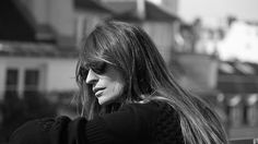 The French model, Caroline de Maigret, can be seen sporting the new two-tone shoes in a black-and-white short film directed by Bertrand le Pluard for the luxury fashion house.