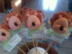 . Biscuit, Ideas Para Fiestas, Pasta Flexible, Fondant, Polymer Clay, Kawaii, Sweet, Charms, Cupcakes