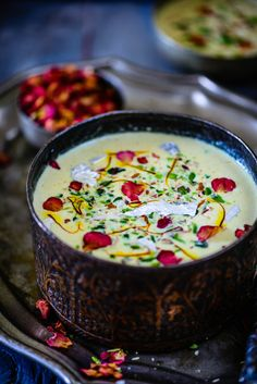 Thandai Rabri is an Indian dessert which is made by thickening milk along with Thandai Masala Powder. Try it for your weekend Holi Party or make it during summers as a refreshing dessert, you are going to love it. Here is how to make it. #Holi #HoliRecipe