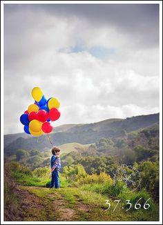 Birthday Photography - Balloons