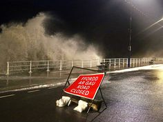 Hundred mile an hour winds have buffeted Wales, leaving tens of thousands of premises without power supplies and causing chaos on the road a...