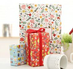 7321 scandinvia wrapping paper [wrapping paper, 7321 design, korean stationery]