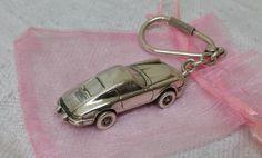 Schlüsselanhänger 911 Porsche 925 Voll-Silber von Schmuckbaron