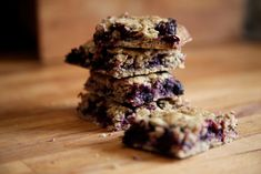 Blueberry Rye Energy Bars Go Anywhere