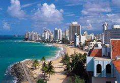 Condado Beach, San Juan, Puerto Rico - This beach is only 7 min drive from my house. So homesick right now! AML