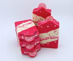 Peppermint Swirl Soap/artisan soap/handmade soap/all natural soap/hand made soap/peppermint soap/homemade soap/luxury soap/goat milk soap/Owl Natural Soaps