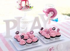 Candy table Birthday Party Tables, Birthday Ideas, Bridal Shower, Baby Shower, Little Pony Party, Candy Table, Baby First Birthday, First Birthdays, Barbie