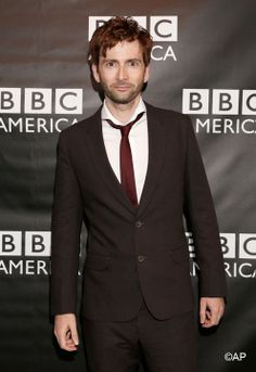 David Tennant. Is it just me, or does he look kinda ginger in this picture? :)