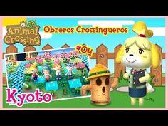 Obreros Crossingueros ayudando a Jose - Animal Crossing New Leaf