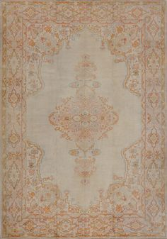 Matt Camron Rugs & Tapestries - Antique Collection - Antique Oushak - 00130AH