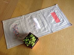 Make a Table Runner Inspired by Blog Cabin 2014 >> http://blog.diynetwork.com/maderemade/how-to/make-a-table-runner-inspired-by-blog-cabin-2014/?soc=pinterest