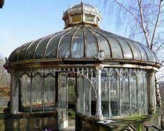Abandoned Victorian Glasshouse