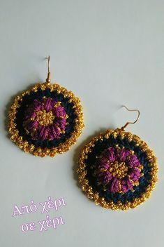 #από_χέρι_σε_χέρι #πλεκτό_κόσμημα #Κλεοπάτρα_Χρήστου #πλεκτο #κοσμημα #σκουλαρίκια #χειροποιητακοσμηματα #χειροποιητο #γυναικα #μοδα #δωρο #τεχνη #αξεσουαρ #crochetjewellery #woman #handmade #crochet #fashion #accessories #style #art #gift #girl #love #colorful #wearit #Greece #jewel #crochetearrings #lookoftheday Crochet Earrings, Jewelry, Fashion, Jewels, Moda, Jewlery, Jewerly, Fashion Styles, Schmuck