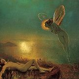 Endymion on Mount Latmos by John Atkinson Grimshaw