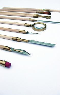 Pencil Works by Trevor Duncan, designersinresidence