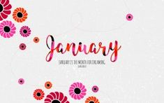 WALLPAPERS HD: January Month for Dreaming