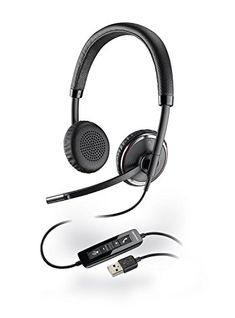 Plantronics Blackwire Binaural USB Headset For Office & Home PC/ Laptop 17229140066 Headphones With Microphone, Gaming Headphones, Noise Cancelling Headphones, Ear Headphones, Usb, Black Headband, Wireless Headset, Gaming Headset, Bluetooth
