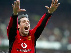 Ruud van Nistelrooy in 2003 scored in 10 consecutive games in the Premier League for Manch...