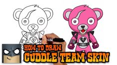 How To Draw Panda Team Leader Easy Fortnite Claire S Ideas In