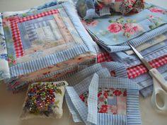 How to make a Mias Landliv-quilt... FAQs - Mias Landliv