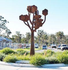 Out on a limb by Jimmy Rix Corten Steel, Public, Sculpture, Sculpting, Statue, Sculptures
