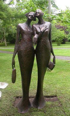 Bob Quinn, Best Night Ever, Sculpture in Context, Botanic Gardens, 2010