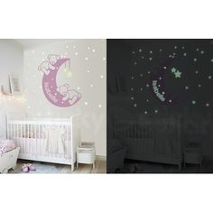 Αυτοκόλλητο τοίχου glow SLEEPY BEARS - Sticky Sleepy Bear, Wall Sticker, Glow, Kids Rugs, Stickers, Bears, Home Decor, Decoration Home, Kid Friendly Rugs