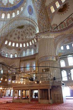 A kék mecset belülről.