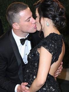 Love them together! Channing Tatum & Jenna Dewan-Tatum.