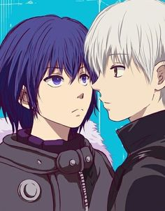 Ayato and Kaneki