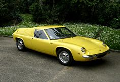 1967 Lotus Europa. Miss my 69 Europa but it would be too tuff to get into now. I think they have shrunk.