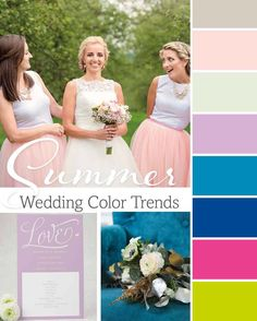 Do you know the best color schemes to choose based on the season of your wedding? Here are some amazing ideas and combinations to help you out.   http://www.magnetstreet.com/wedding-color-trends