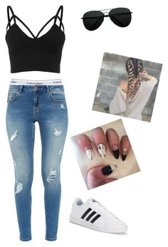 """""""Untitled #56"""" by bails26 on Polyvore featuring Calvin Klein Underwear, Ted Baker and adidas"""