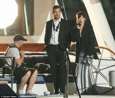 Working girl: Dakota's trip to New York is likely to be brief as she will be due back in Vancouver to reprise her role as Anastasia Steele with Jamie Dornan as her kinky millionaire businessman lover, Christian Grey.Director James Foley is filming 50 Shades Darker and 50 Shades Freed back-to-back