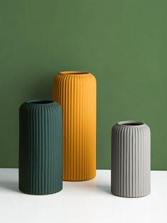Ceramic Vase, Ceramic Pottery, Pottery Vase, Thrown Pottery, Slab Pottery, Ceramic Decor, Flower Vases, Flower Pots, Fish Shapes