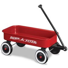toy wagon for Jaxon. Antique Toys, Vintage Toys, Christmas Parade Floats, Toy Wagon, Little Red Wagon, Old Wagons, Radio Flyer, 90s Toys, Vintage Nursery