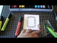 Easy Stamper's Big Brush Pens techniques by Keep on Scrappin'