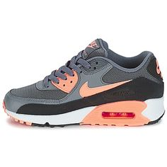 0747a4659b376 Baskets mode Nike AIR MAX 90 ESSENTIAL W Gris   Corail 350x350 Flyknit  Racer, Nike