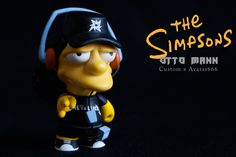 The Simpsons Otto Mann Custom Kidrobot Figure by Avatar666