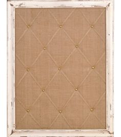 Shabby Chic Memo Board | Burlap Memo Board | Find Home Decor from @Jo-Ann Fabric and Craft Stores